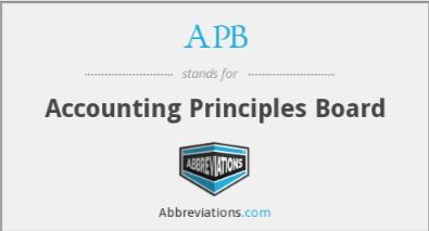 pengertian akuntansi menurut para ahli accounting principle board 1