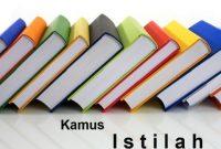istilah-istilah akuntansi dalam bahasa inggris lengkap dan penjelasannya