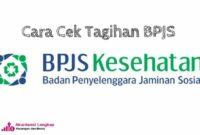 Cara cek tagihan BPJS