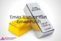 emas kuning dan emas putih