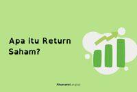 return saham adalah
